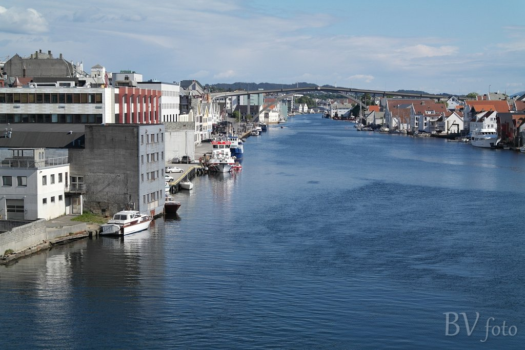 Møllervegen kaj og Smedasundet udsigt