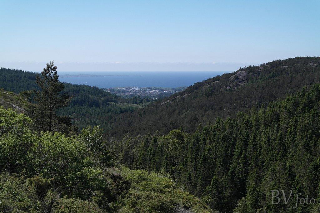 Steinsfjellet udsigt