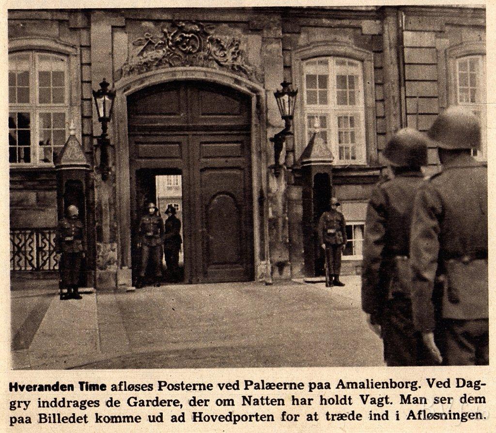 Livgarden under besættelsen