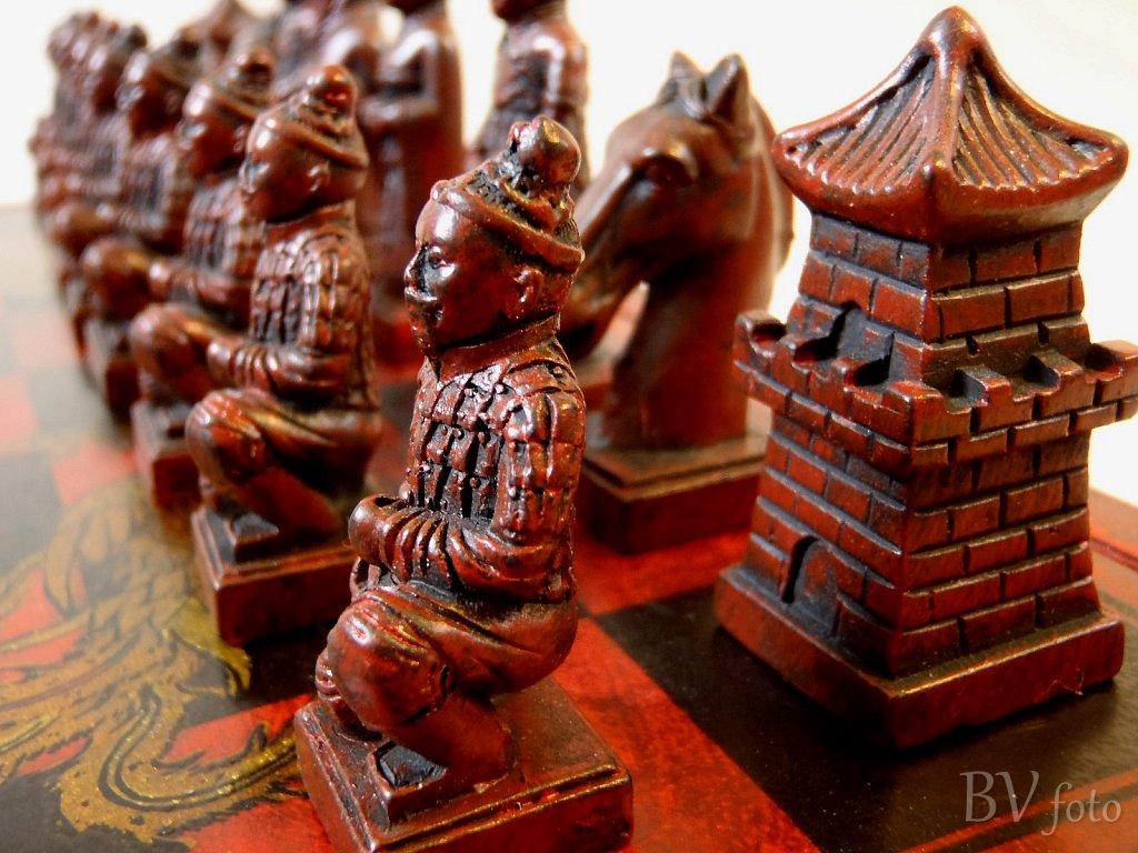Kinesisk Skakspil Brikker