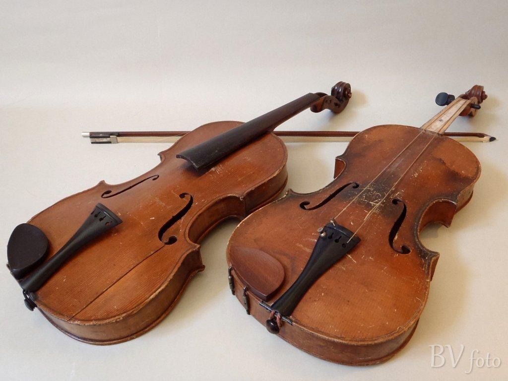Gamle udtjente Violiner