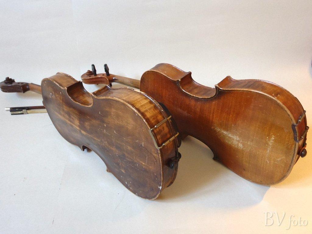 Antikke Gamle Violiner