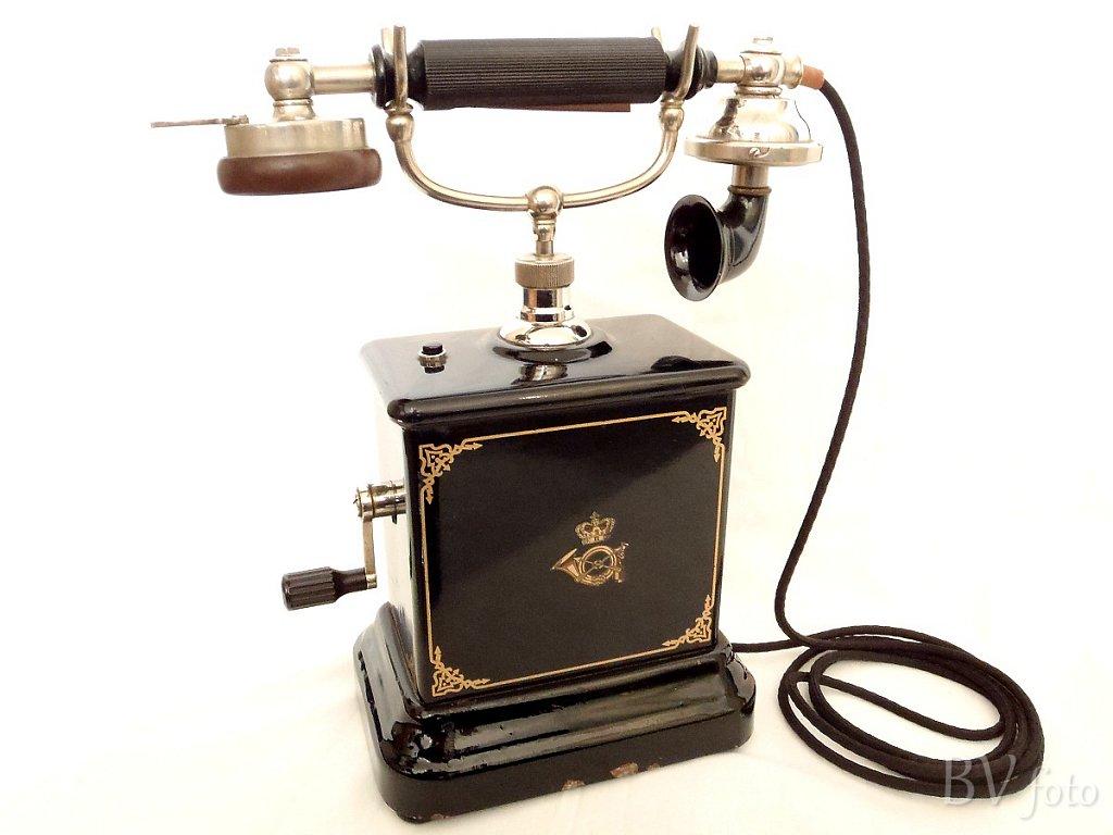 Rigstelefon, Post & Telegrafvæsnet 1914