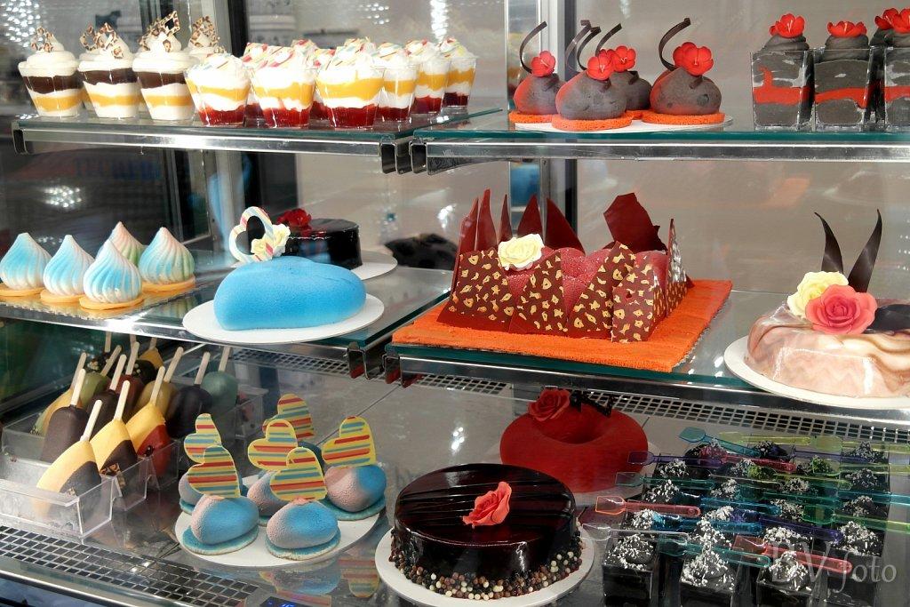 Is desserter med farver