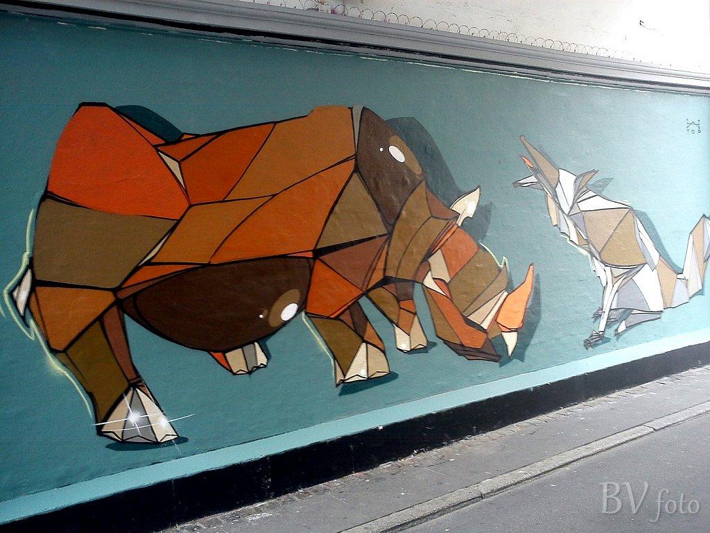 Rhino / næsehorn - Storm6, Westend, Kbh